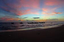 "Wandbild ""Sonnenaufgang in Thailand"" auf Acrylglas 21 x 28 cm (weitere Formate)"