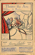 ROUEN THEATRE DES ARTS HAMLET OPERA MICHEL CARRE & JULES BARBIER 1927