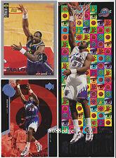 (3)THUNDER BRINGIN' IT/UD PLAYER'CLUB/SUPER POWERS: KARL MALONE #4/235/S27 LOT