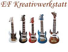 1:12 E-Gitarre weiss 6 cm FL0567 für die Puppenstube