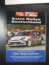 Auto Motor und Sport Extra Rallye Deutschland 2002