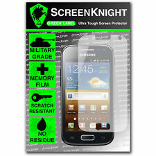 ScreenKnight Samsung Galaxy Ace 2 SCREEN PROTECTOR invisible Military shield