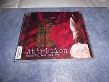 Recollection 1984-1989 by Attrition (CD, Jun-1997, Projekt Records)