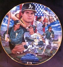 Jose Canseco Sports Impressions Gold Edition Plate 1989