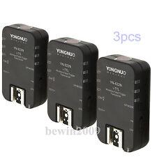 YONGNUO 3PCS YN-622N YN622N Wireless TTL Flash Trigger Transceirvers for Nkion