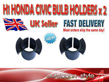 2 x H1 Bombilla Hid Clip Holder Honda Civic Type R S 2001 - 2006 Ep3 Modelos sólo