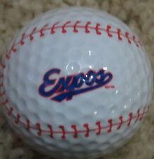 (1) Montreal Expos Major League Baseball Mlb Baseball Logo Golf Ball