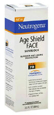 Neutrogena Age Shield Face Sunscreen Spf 70 - 3 oz.