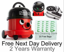 NEW 2020 HENRY HOOVER NRV200 NUMATIC COMMERCIAL VACUUM CLEANER And 20 Free Bags