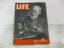 Life Magazine February 7th 1944 Weekly Published By Time      mg4