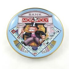 Franklin Mint Heirloom Recommendation Monopoly Plate Limited Edition