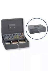 Ordex Cash Box(£) - Secure box -Till Ideal for Market Traders  -Includes 2 keys.