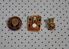 Football-Soccer Vintage Yugoslavia Pin Badge FK Celik Zenica-Lot of 3 pins