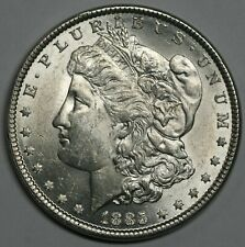 1885 Morgan Dollar BU 90% Silver Dollar US Coin