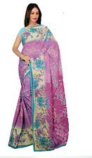 mousseline Bollywood Carnaval SARI ORIENT INDE fo405