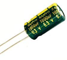 Condensateur Sanyo 6.3V 1800uF radial électrolytique /Aluminium Radial capacitor