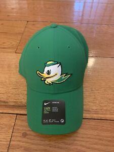 NWT New Oregon Ducks Nike Dri Fit Legacy 91 Puddles Logo Adjustable Hat Cap