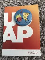"Universal Orlando Annual Passholder UOAP ""A Killer Couple"" Button October 2019"