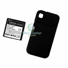 3500mAh Extended Battery for Samsung Galaxy S GT i9000 Black Cover