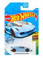 Hot Wheels 2020 LAMBORGHINI SESTO ELEMENTO 164/250 HW Exotics 10/10 Mattel GHC35