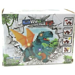 Jaolex Walking Dinosaur Toy With LED Lights And Sounds Dragon Figures NEW in Box