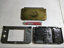 NEW 3DS XL GOLD ZELDA  Majoras Mask Top & Battery Cover Housing Shell 3 PCS SET