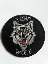 3 Inch Wolf Sublimation Iron Or Sew On Patch Motorbike Harley Dog