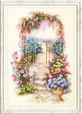 Cross Stitch Kit Magic Aguja (maravilloso Aguja) 110-001 entrada del jardín