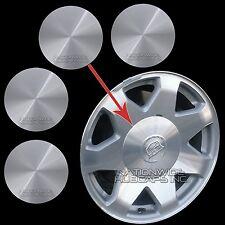 """02-06 Cadillac Escalade 17"""" Aluminum Wheel Center Hub Caps 6 Lug Rim Cover Hubs"""