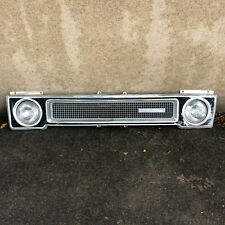 International Harvester 69 70 71 TravelAll pickup header panel grille