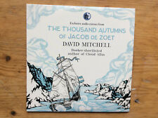DAVID MITCHELL; THE THOUSAND AUTUMN OF JACOB DE ZOET PROMO AUDIO CD