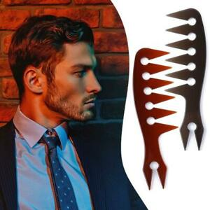 Men Hair Texture Comb Wide Tooth Texturizing Comb Man Oil Head Hair Comb Tools