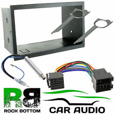 Volkswagen VW Sharan 1999-2005 Double DIN Car Stereo Radio Fascia Aerial & Keys