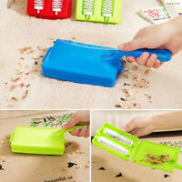 Handheld Carpet Table Sweeper Crumb Dirt Brush Cleaner Roller I1Q0 Collecto V7Y3