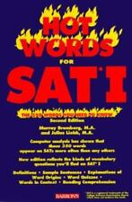 Hot Words for Sat I: The 350 Words You Need to Know (Barron's Hot Words for the
