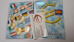 2011 SPAGNA 8 monete 3,88 EURO fdc espagne spanien spain espana espanha Испания
