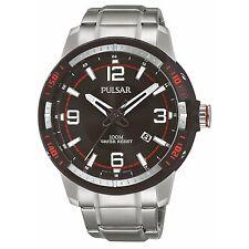 Pulsar Sport Stainless Steel Case Quartz (Battery) Watches