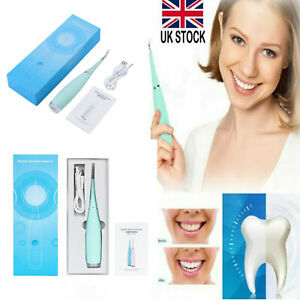 Electric Sonic Dental Scaler Plaque Tartar Calculus Remover Tooth Stains Tools#