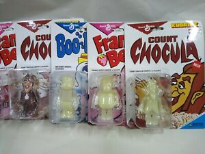 Medicom Kubrick General Mills Boo-Berry Frankenberry count chocula set of 6