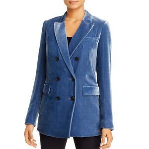 Lafayette 148 New York Womens Velvet Solid Blazer Jacket BHFO 4060