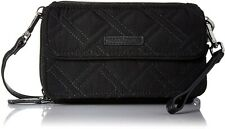Vera Bradley RFID All in One Crossbody, Handbag  wallet Purse Classic Black New