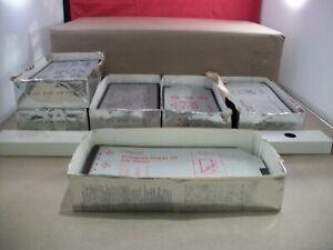 """Large Lot of Polaroid 4"""" x 5"""" Film Sheets - T-52, T-59, T-54, T-56"""