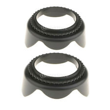 2 Pieces Replacement Camera Lens Hood 58mm for Canon 1100D/600D/550D/500D