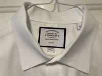 Men's Charles Tyrwhitt 17.5/34 Slim Fit 100% Cotton Dress Shirt (Pre-Owned)