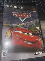 Disney Pixar Cars (Sony PlayStation 2, 2006) Sealing Is Pealed Off See Photos*