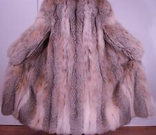 Neiman Marcus Top Quality Lynx Fur Coat Size 16-18 Excell Condition FREE SHIPPIN