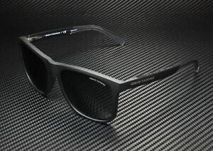 ARMANI EXCHANGE AX4049Sf 818287 Matte Black Grey 57 mm Men's Sunglasses