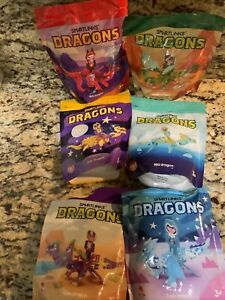 Wendy's SmartLinks Dragons 2020 New  Lot of 6