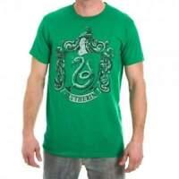 Official Licensed Harry Potter Slytherin Mens Green T-Shirt