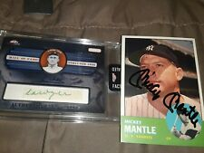 New ListingYankees autographed card lot with mantle, jeter, judge, DiMaggio, cobb and moe